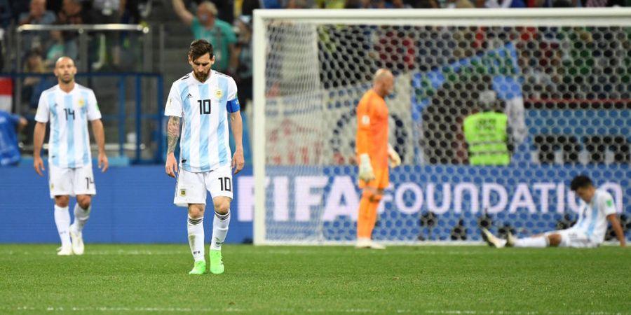 Lionel Messi Tertekan dan Tidak Bahagia Bersama Argentina di Piala Dunia 2018