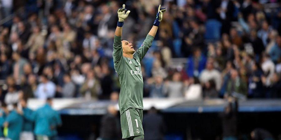 VIDEO - Keylor Navas Lakukan Kontrol Sempurna pada Laga Pamungkas Real Madrid ICC 2018