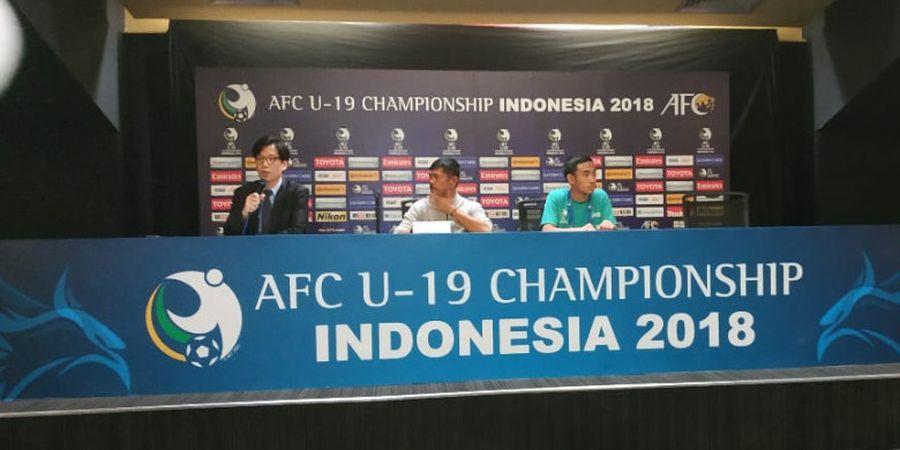 Indra Sjafri Dapat Pertanyaan Soal Jadwal Latihan Timnas U-19 Indonesia dari Wartawan Jepang