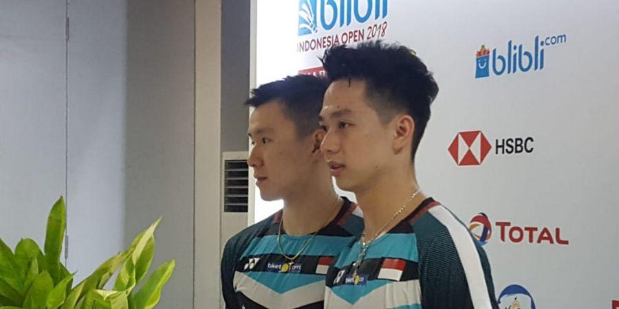 Marcus/Kevin Susah Dihentikan di BWF World Tour Finals 2018