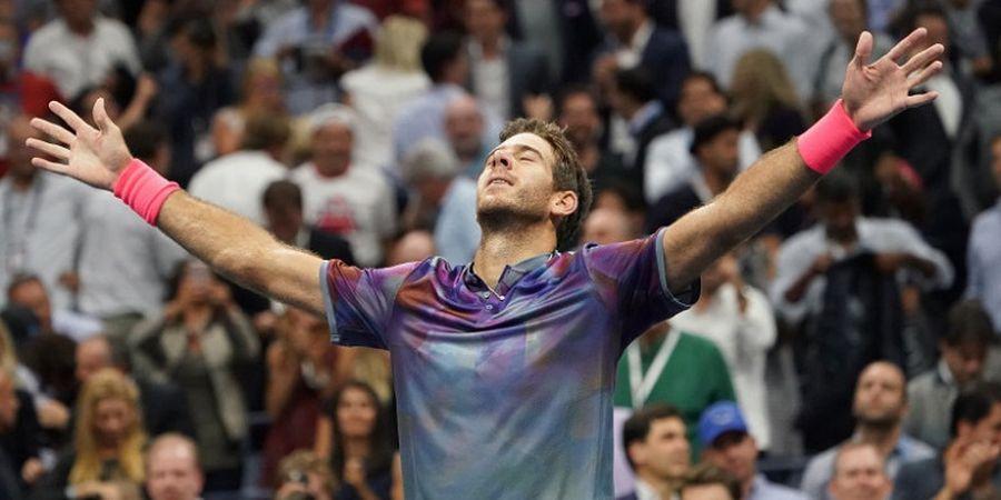 Del Potro Ingin Ulangi Memori 8 Tahun Lalu Usai Kalahkan Roger Federer