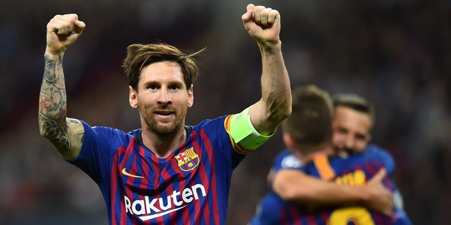 Jordi Alba: Lionel Messi yang Terbaik, Hasil Pemain Terbaik FIFA 2018 Bohong!