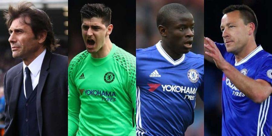 Chelsea 2016-2017 dalam Angka