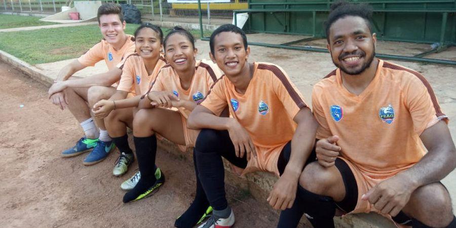 Football for Peace 2018, Semangat Lari di Tengah Terik Matahari