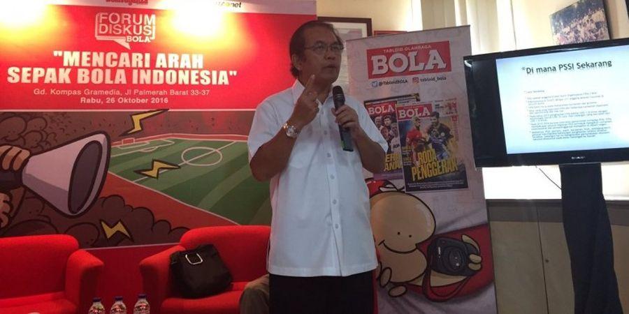 Fritz Simanjuntak Bicara Kaitan Sepak Bola, Ekonomi Kerakyatan, dan Jokowi