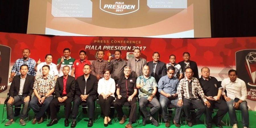 Piala Presiden 2017 Mulai 4 Februari