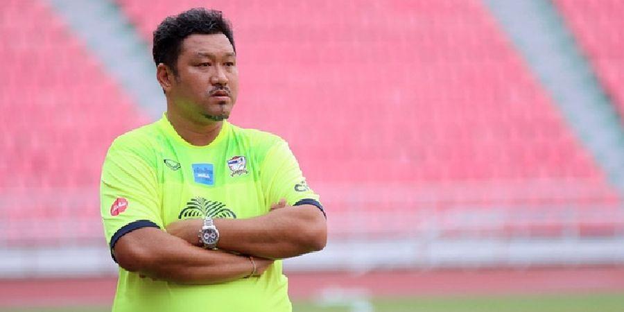 Asian Games 2018 - Satu Pot dengan Indonesia, Pelatih Timnas U-23 Thailand Sebut Keuntungan untuk Timnya