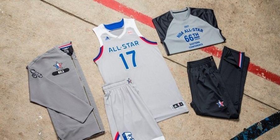 Ini Kostum Resmi NBA All-Star 2017