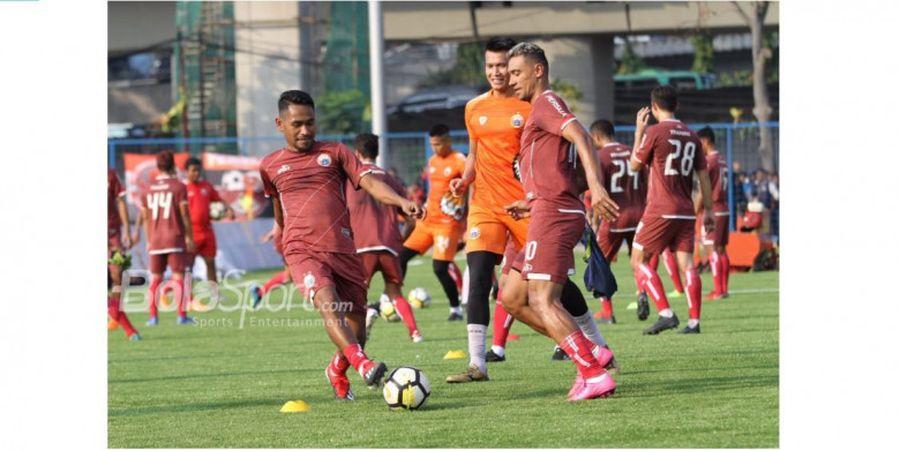 Persija Gelar Latihan Tertutup untuk Bersiap Hadapi Madura United