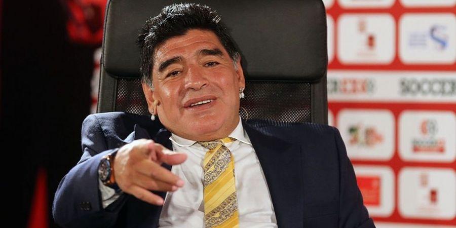 Maradona Minta Messi Batalkan Keputusannya