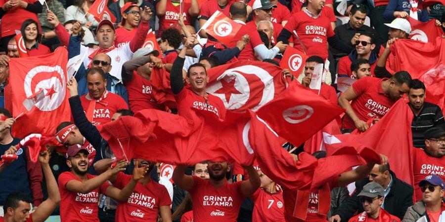 Lolos ke Piala Dunia 2018 Rusia, Timnas Tunisia Pamerkan Jersey Baru