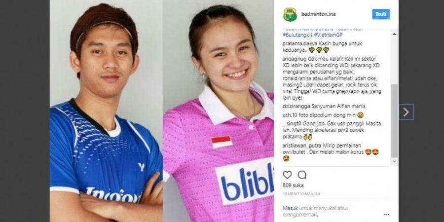 Ini Kunci Alfian/Melati Raih Gelar Juara Vietnam Terbuka 2017