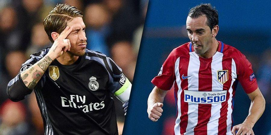 Real Madrid Vs Atletico Madrid, Kunci di Lini Belakang