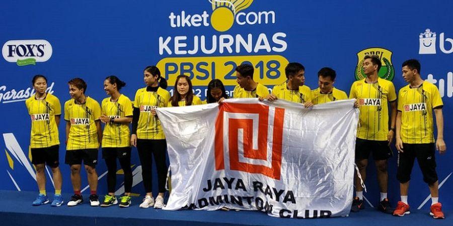 Final Kejurnas PBSI 2018 - PB Jaya Raya Juarai Beregu Campuran Dewasa