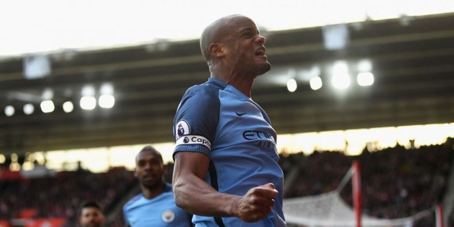 Kompany Heran Man City Gagal Kalahkan Manchester United