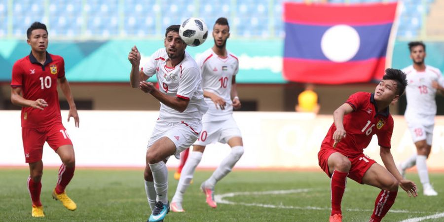 Timnas U-23 Laos Coba Rotasi Saat Hadapi Timnas U-23 Indonesia