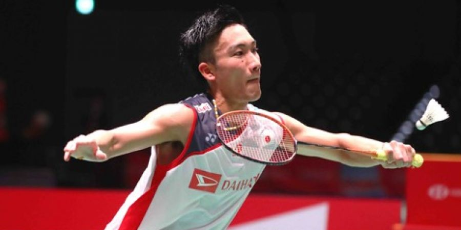 Kento Momota Gemetar Saat Tampil pada Final Kejurnas Jepang 2018