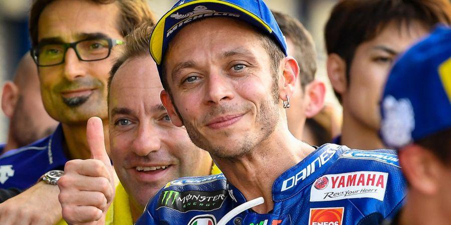 Berkat Prediksi, Valentino Rossi Optimistis pada Balapan MotoGP Valencia
