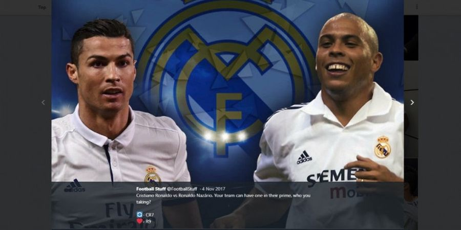 Perbedaan Cristiano Ronaldo dengan Ronaldo Nazario, Si Rajin dan Si Malas dalam Latihan