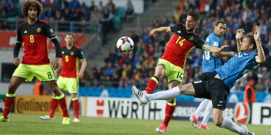 Hasil Kualifikasi Piala Dunia 2018 Grup H, Belgia Cetak 2 gol dari 29 Tembakan
