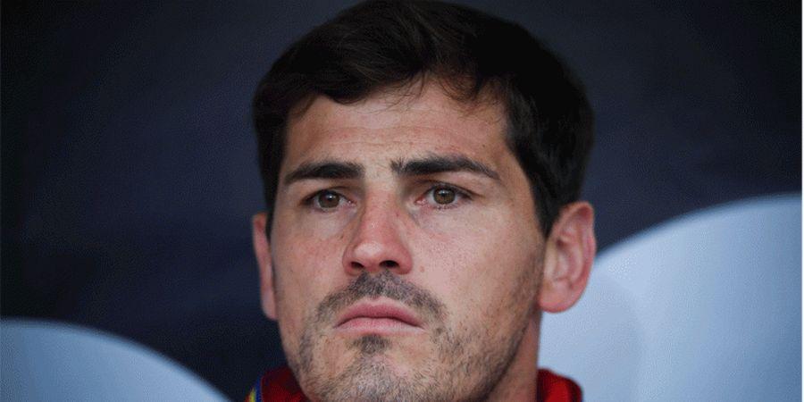 Iker Casillas Samai Catatan Kiper Legendaris Spanyol