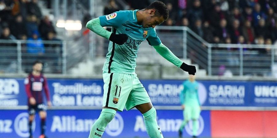Neymar Samai Rekor Ronaldinho di Barcelona