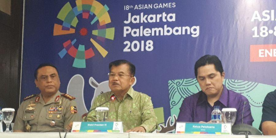 Jusuf Kalla Ucap Hal Penting Terkait Api Obor Asian Games 2018