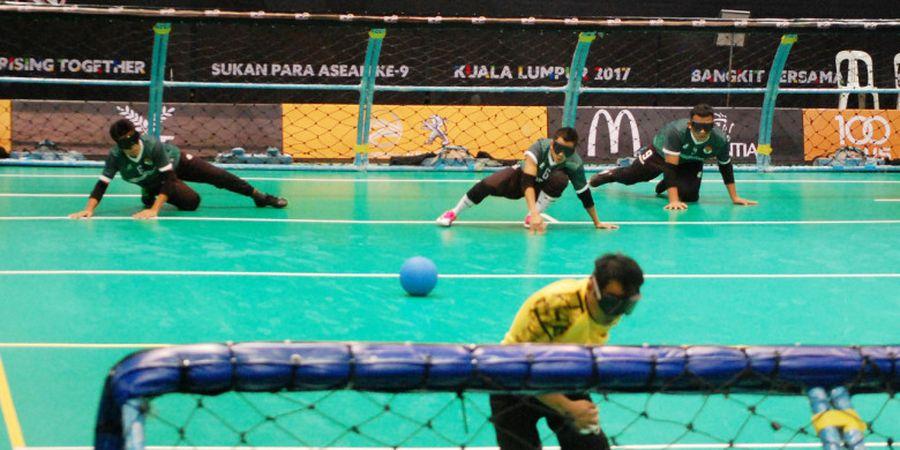Singkirkan Laos, Tim Goal Ball Indonesia Maju ke Semifinal APG 2017