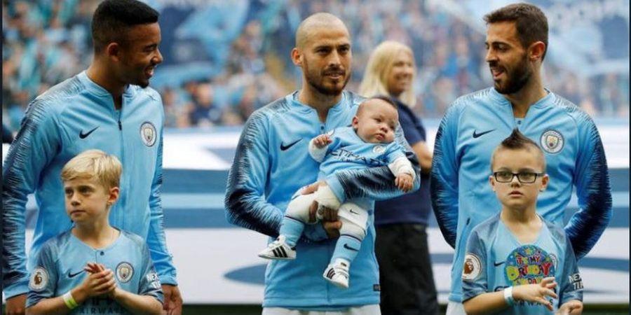 Bocah Menggemaskan Ini Jadi Alasan Kuat Bagi David Silva untuk Tinggalkan Manchester City