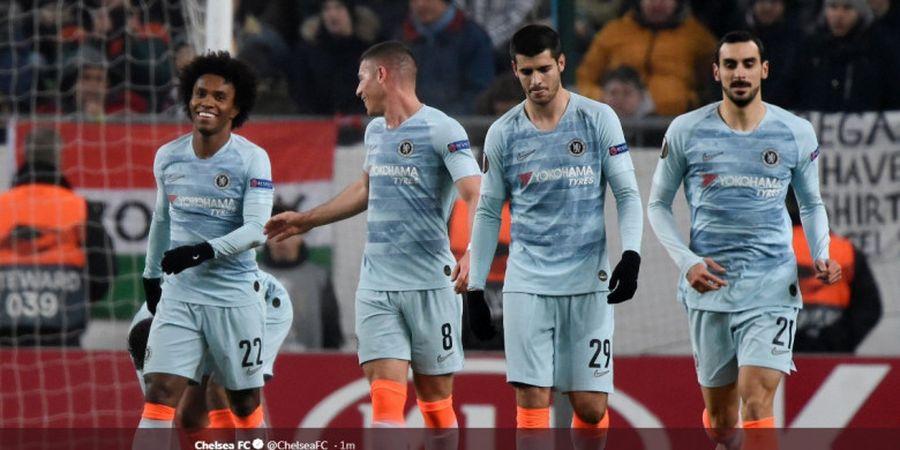 Susunan Pemain Brighton Vs Chelsea - Eden Hazard Kembali Jadi Ujung Tombak