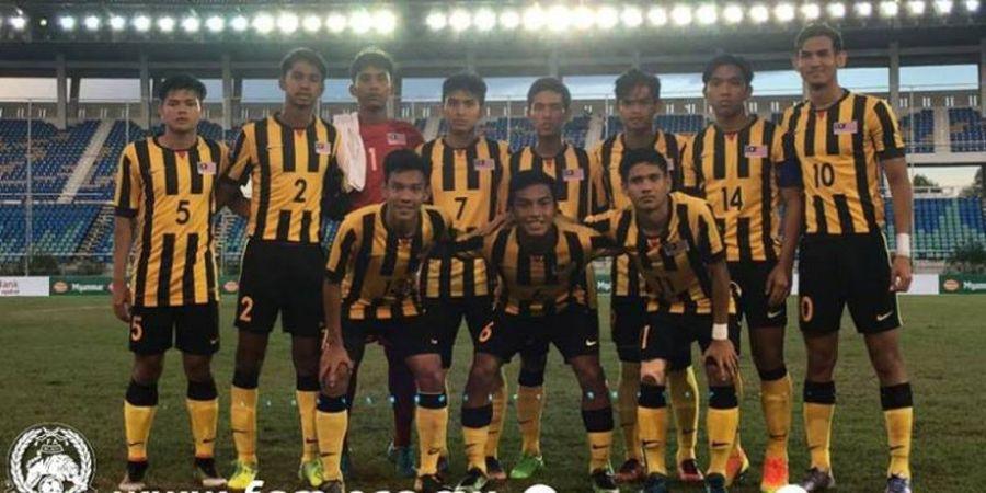 Jadwal dan Live Streaming Babak Semifinal Piala AFF U-18, Malaysia Vs Myanmar