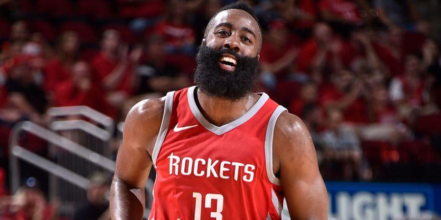 Playoffs NBA 2019 - Cedera Mata, Harden Tak Bisa Lihat dengan Jelas