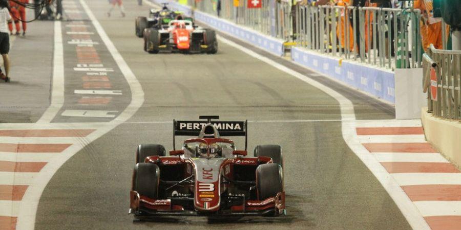 Formula 2 Abu Dhabi 2018 - Tim Pertamina Theodore Racing Finis Ke-5