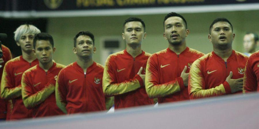 Link Live Streaming Laga Timnas Futsal Indonesia Vs Thailand