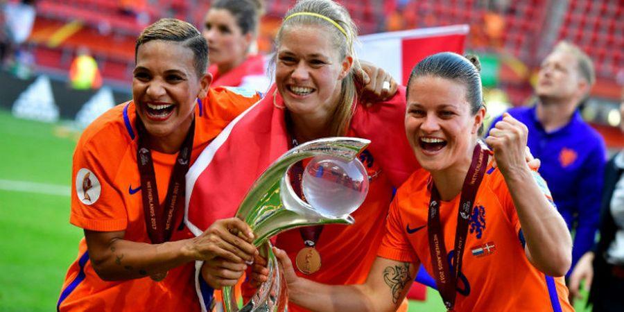 Ini yang Terjadi di Kamar Ganti Tim Putri Belanda Setelah Juara Piala Eropa