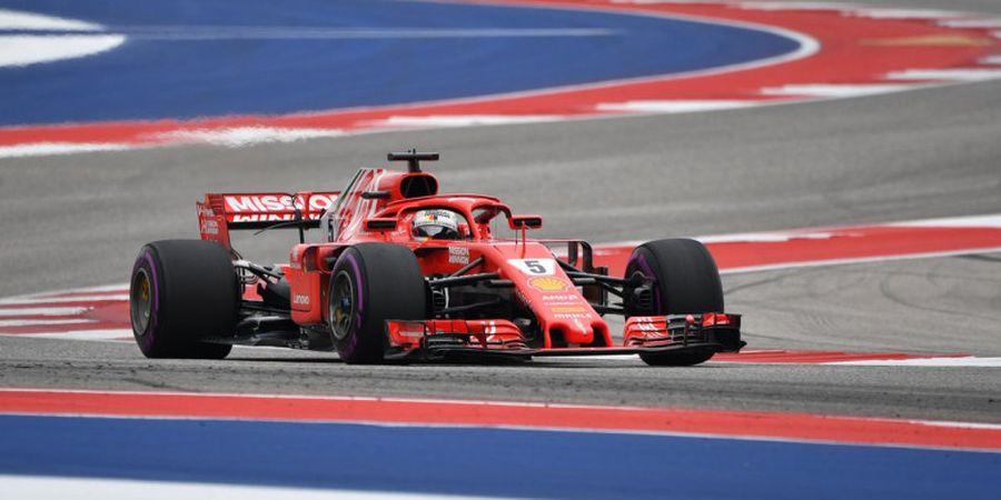 Seperti ini Kesan Awal Sebastian Vettel Soal Mobil Baru Ferrari