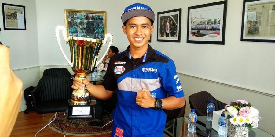 Curhatan Galang Hendra kepada Menpora soal Minimnya Sirkuit di Indonesia