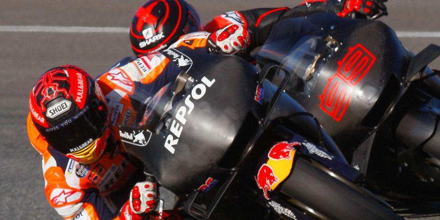 Relasi antara Marc Marquez dan Jorge Lorenzo Tak Cemaskan Manajer Tim Honda