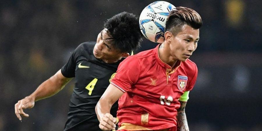 SEA Games 2017 - Dikalahkan Malaysia, Pelatih Timnas U-22 Myanmar Akui Permainan Buruk Timnya di Babak Pertama