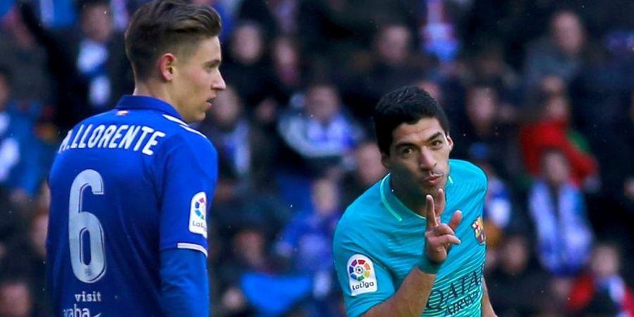 Catat 109 Gol, Luis Suarez Samai Rekor Luis Enrique