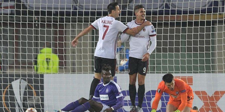 Hasil Babak I Austria Wien Vs AC Milan - Pemain Asal Turki Sukses Bawa Rossoneri Pesta 3 Gol