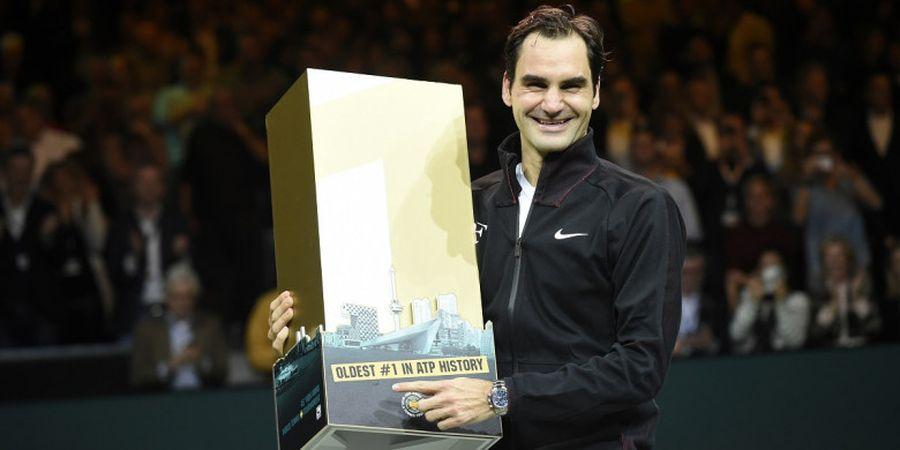 Jadi Nomor Satu Lagi, Roger Federer Dipuji Sebagai Paket Komplet