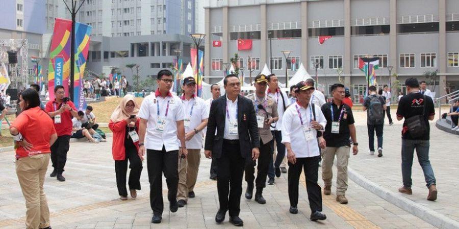 CdM Indonesia untuk Asian Games Lakukan Pengecekan Kamar hingga Menu Makanan di Wisma Atlet Kemayoran