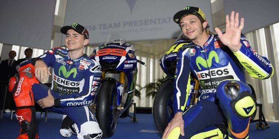 Media Italia: Jorge Lorenzo Siap Bantu Valentino Rossi di Yamaha
