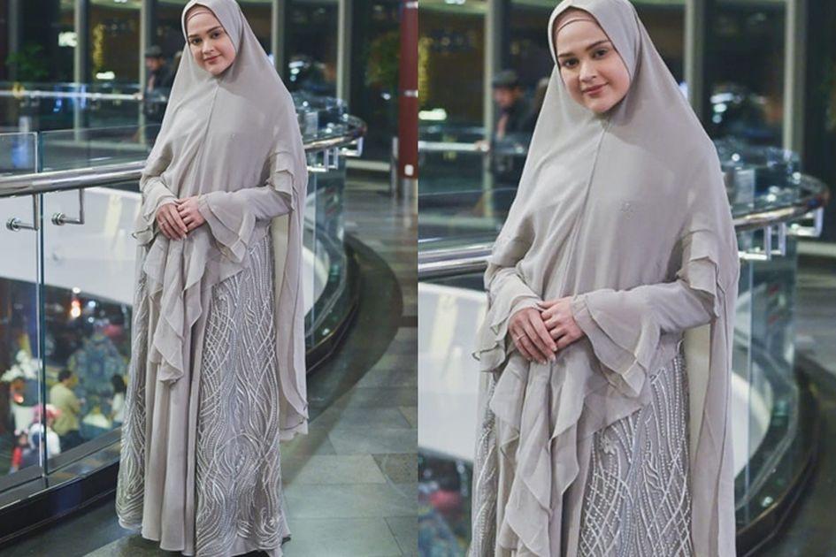 Inspirasi Model Gamis Syar I Remaja Modern Ala Cut Meyriska Cocok Untuk Milenial Grid Id