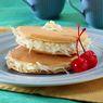 Pancake Tangkup Keju, Snack Lezat Pengganjal Lapar Sampai Makan Malam