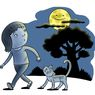 Benarkah Bulan Mengikuti Kita Berjalan?