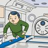 Astronaut di Ruang Angkasa Terhindar dari Bakteri dan Virus, Kok Bisa?