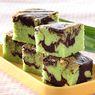 Resep Cake: Marmer Cake Pandan, Kelembutannya Sukses Bikin Lidah Bergetar