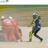 MotGP Emilia-Romagna 2020 - Penyesalan Valentino Rossi Usai Jadi Satu dari 7 Pembalap yang Gagal Finish di Misano